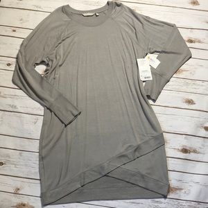 New with tags sweatshirt dress from Athleta.